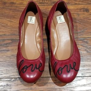 Ellen DeGeneres Longston Ballet flat shoes